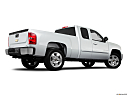 2011 Chevrolet Silverado 1500 LT, low/wide rear 5/8.