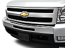 2011 Chevrolet Silverado 1500 LT, close up of grill.