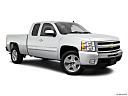 2011 Chevrolet Silverado 1500 LT, front passenger 3/4 w/ wheels turned.