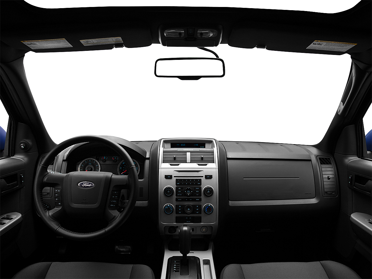 2011 Ford Escape XLT I4, centered wide dash shot