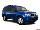 2011 Ford Escape XLT I4, front passenger 3/4 w/ wheels turned.