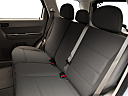2011 Ford Escape XLS I4, rear seats from drivers side.