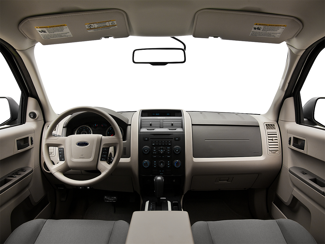 2011 Ford Escape XLS I4, centered wide dash shot