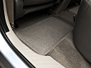 2011 Ford Escape XLS I4, rear driver's side floor mat. mid-seat level from outside looking in.