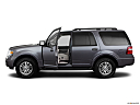 2011 Ford Expedition XLT, driver's side profile with drivers side door open.