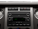 2011 Ford Expedition XLT, closeup of radio head unit