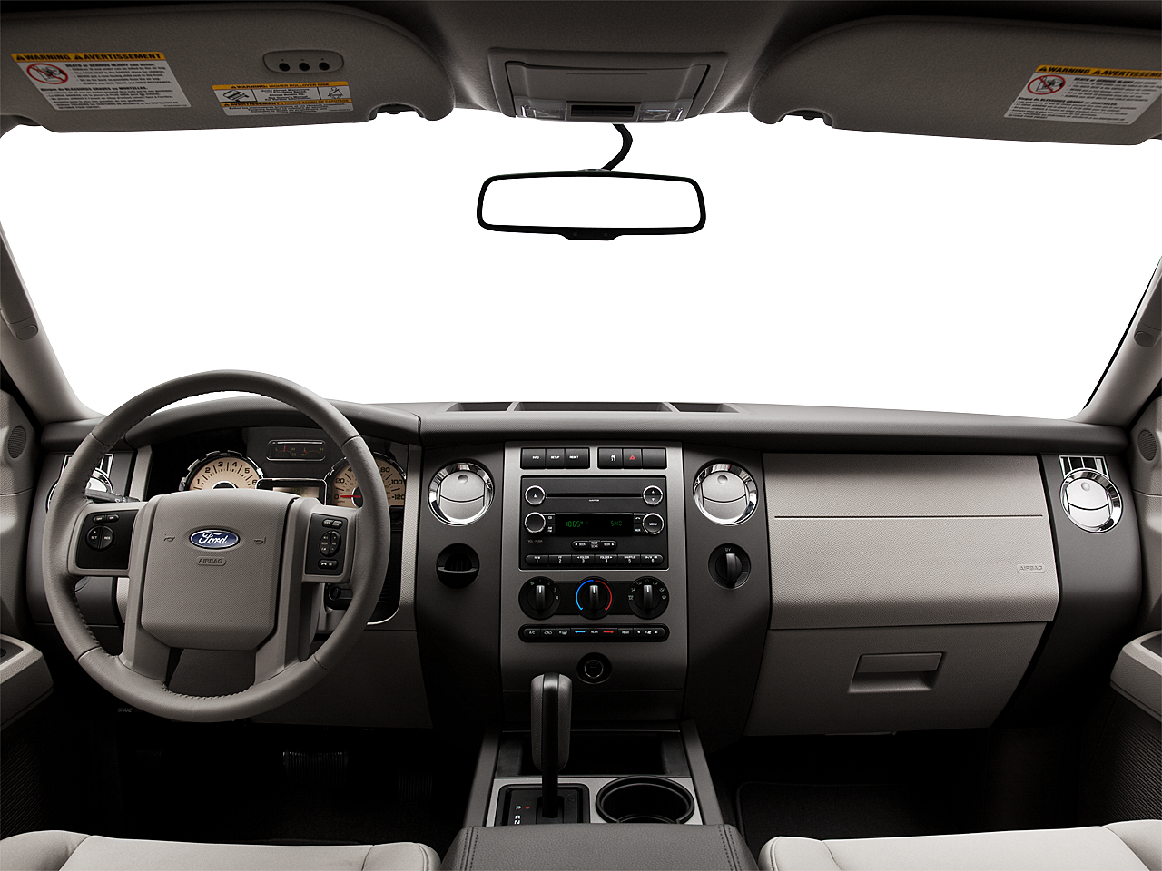 2011 Ford Expedition XLT, centered wide dash shot