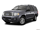 2011 Ford Expedition XLT, front angle medium view.
