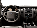 2011 Ford Expedition XLT, steering wheel/center console.