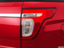 2011 Ford Explorer XLT, passenger side taillight.
