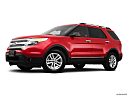 2011 Ford Explorer XLT, low/wide front 5/8.