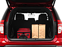 2011 Ford Explorer XLT, trunk props.