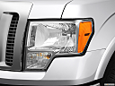 2011 Ford F-150 Lariat, drivers side headlight.