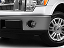 2011 Ford F-150 Lariat, driver's side fog lamp.