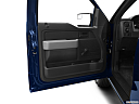 2011 Ford F-150 XL, inside of driver's side open door, window open.