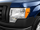 2011 Ford F-150 XL, drivers side headlight.