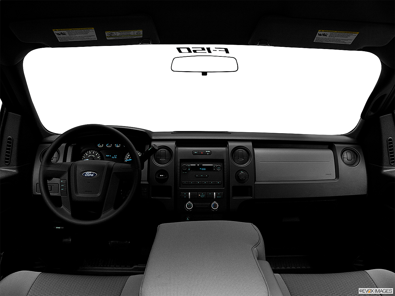 2011 Ford F-150 XL, centered wide dash shot