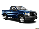 2011 Ford F-150 XL, front passenger 3/4 w/ wheels turned.