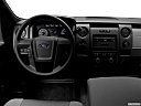 2011 Ford F-150 XL, steering wheel/center console.