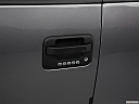 2011 Ford F-150 XLT, drivers side door handle.