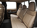 2011 Ford F-150 Lariat, rear seats from drivers side.