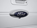 2011 Ford F-150 Lariat, rear manufacture badge/emblem
