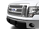 2011 Ford F-150 Lariat, close up of grill.