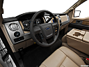 2011 Ford F-150 Lariat, interior hero (driver's side).