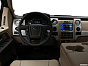 2011 Ford F-150 Lariat, steering wheel/center console.