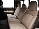 2011 Ford F-150 XLT, rear seats from drivers side.