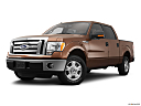 2011 Ford F-150 XLT, front angle medium view.