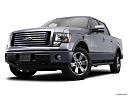 2011 Ford F-150 FX4, front angle view, low wide perspective.