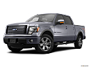 2011 Ford F-150 FX4, front angle medium view.