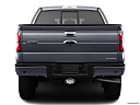 2011 Ford F-150 FX4, low/wide rear.