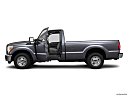 2011 Ford F-250 SD XL, driver's side profile with drivers side door open.