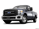 2011 Ford F-250 SD XL, front angle view, low wide perspective.
