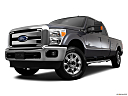 2011 Ford F-250 SD Lariat, front angle view, low wide perspective.