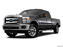 2011 Ford F-250 SD Lariat, front angle medium view.