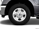 2011 Ford F-250 SD XLT, front drivers side wheel at profile.