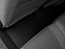 2011 Ford F-250 SD XLT, rear driver's side floor mat. mid-seat level from outside looking in.