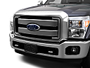 2011 Ford F-250 SD XLT, close up of grill.