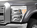 2011 Ford F-250 SD XLT, drivers side headlight.