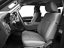 2011 Ford F-250 SD XLT, front seats from drivers side.