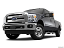 2011 Ford F-250 SD XLT, front angle view, low wide perspective.