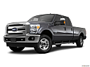 2011 Ford F-250 SD XLT, front angle medium view.