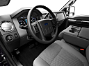 2011 Ford F-250 SD XLT, interior hero (driver's side).