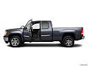 2011 GMC Sierra 1500 SLE, driver's side profile with drivers side door open.