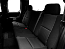 2011 GMC Sierra 1500 SLE, rear seats from drivers side.