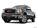 2011 GMC Sierra 1500 SLE, front angle view, low wide perspective.