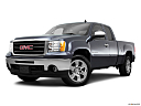 2011 GMC Sierra 1500 SLE, front angle medium view.